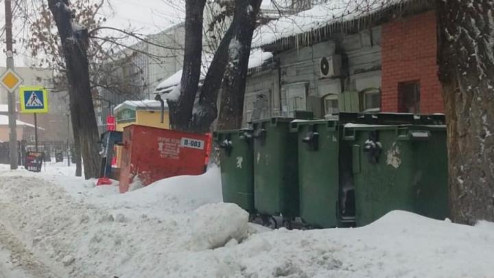 Регоператор: время движения мусоровозов из-за непогоды увеличилось на 25%