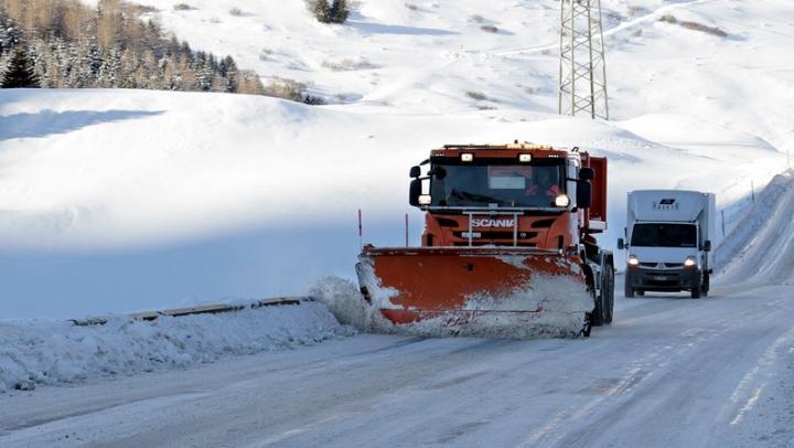 Из-за снегопада временно приостановлено автобусное сообщение с Пензенской областью