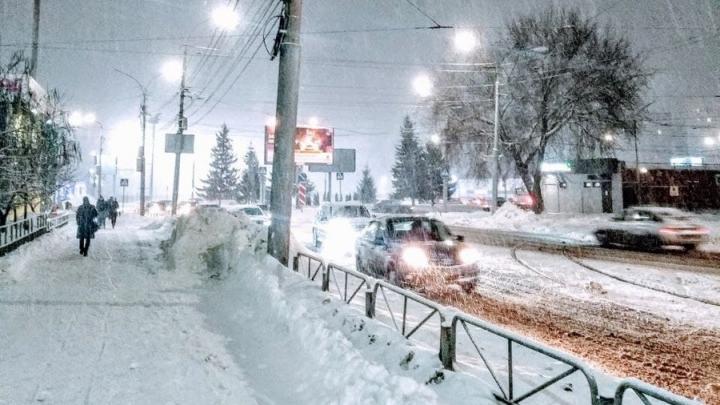 Крепкие морозы пришли в Саратовскую область