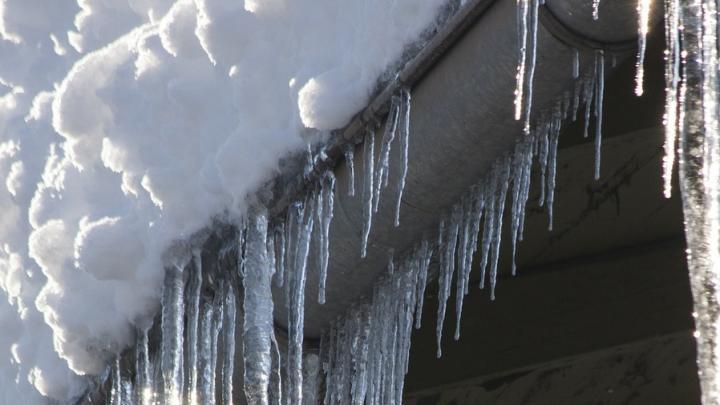 В Саратове «казнят» чиновников за уборку снега с крыш работниками школы и детсада