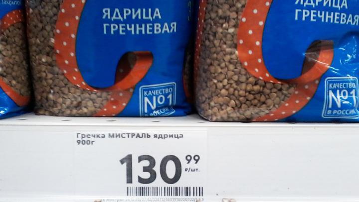 Гречка не падает в цене, несмотря на заверения саратовских властей