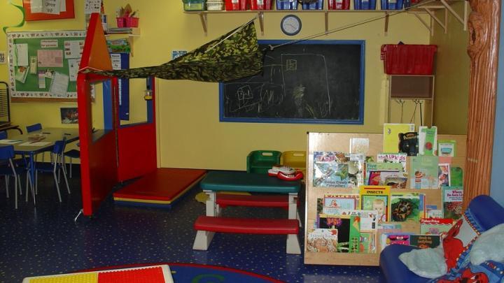 В торговых центрах вновь заработали детские игровые зоны