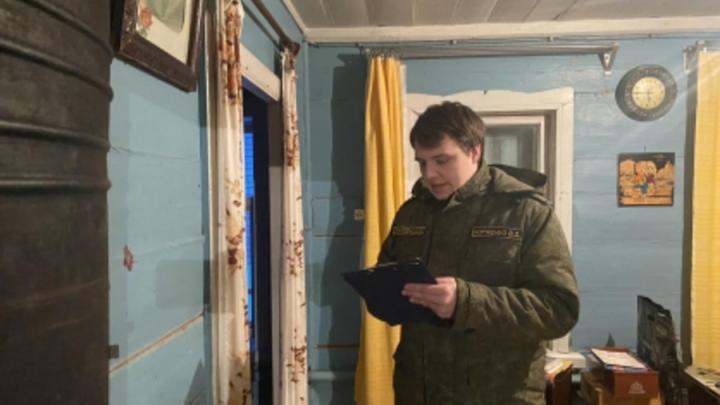 В Балаковском районе найден мертвым хозяин дома