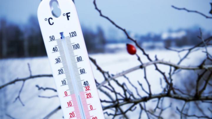Сегодня в Саратове густой туман с утра и легкий снег