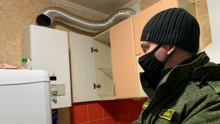 Саратовчанка и двое детей отравились угарным газом