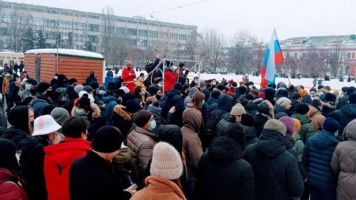 После митинга в Саратове возбуждено уголовное дело