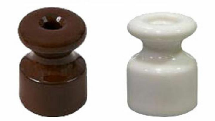 Витые провода, розетки, выключатели и изоляторы для ретро проводки по выгодным ценам