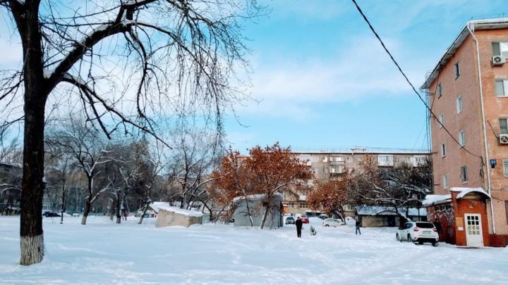 Морозно и облачно будет сегодня в Саратове