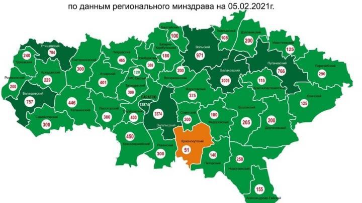 Краснокутский район отстает от остальной области по вакцинации