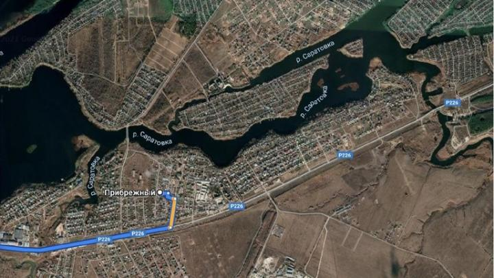 В поселке Прибрежный очистят участок водохранилища