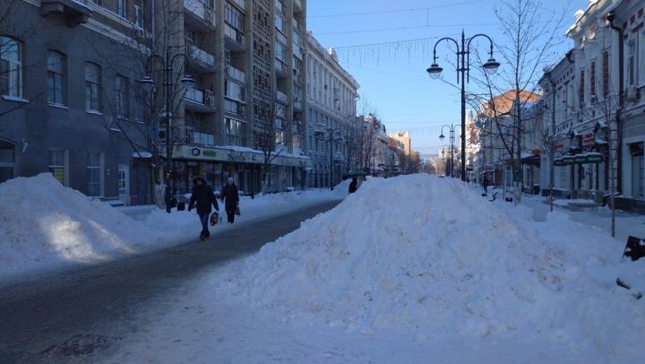 Из-за сильных морозов 17 районов области отменили занятия в школах