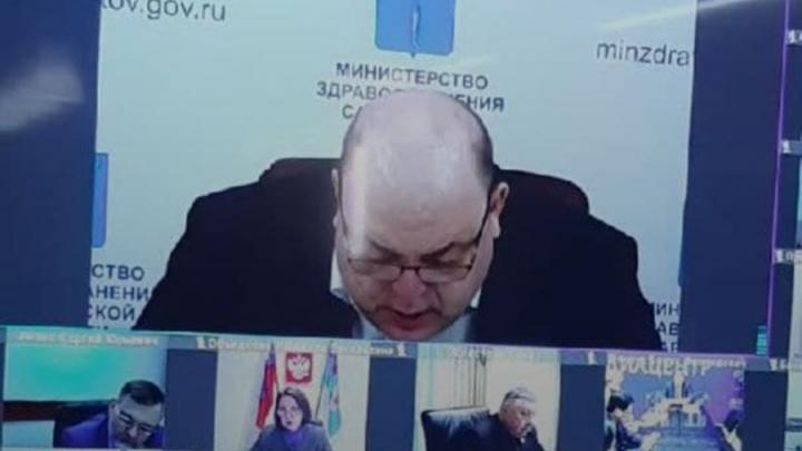 Олег Костин рассказал, почему в Саратовской области мало тестов на коронавирус