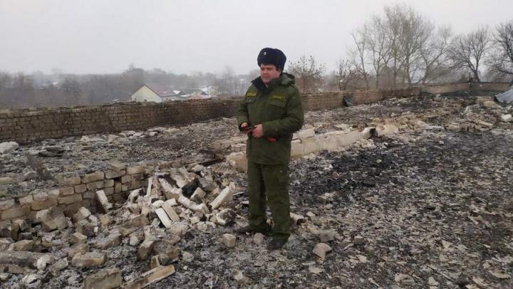 Следственный комитет: школа в Екатериновке загорелась из-за сварочных работ