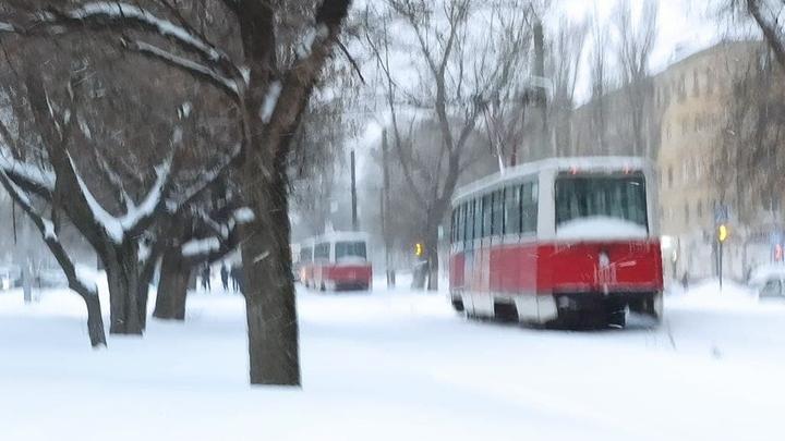 Четыре трамвайных маршрута встали в Саратове