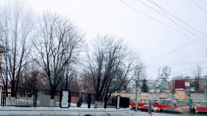 """В Заводском районе встал """"седьмой"""" трамвай"""