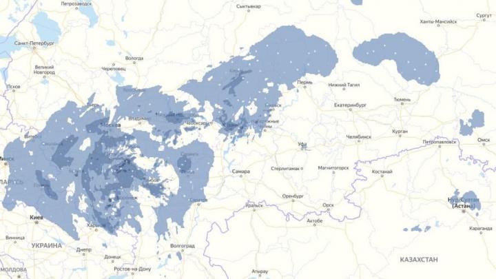Синоптики обещают снегопад федерального масштаба