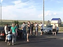 Федеральный канал рассказал об акции жителей Сторожевки