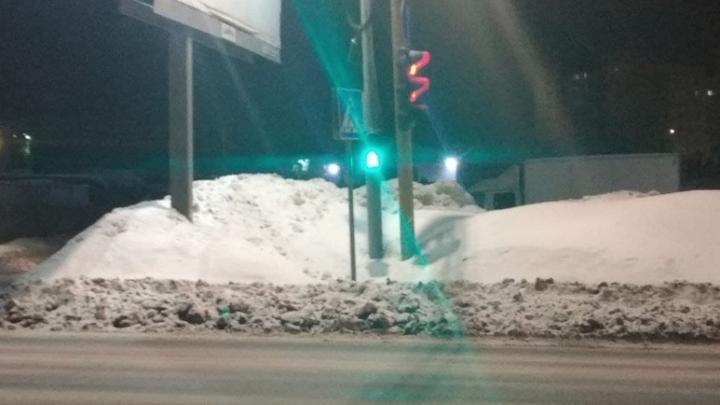 «Призрачный» пешеходный переход обнаружен в Саратове