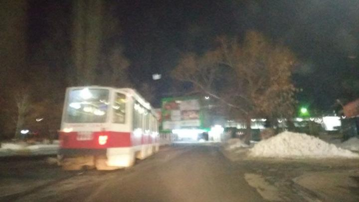 В Саратове встал «шестой» трамвай из-за затопления путей