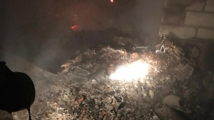 В Балаковском районе мать и сын погибли в огне