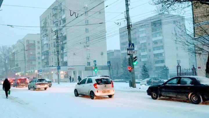 Снова похолодание в Саратове