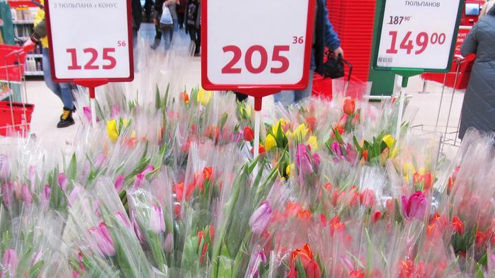 Саратовские магазины снизили стоимость тюльпанов до 29-40 рублей за штуку