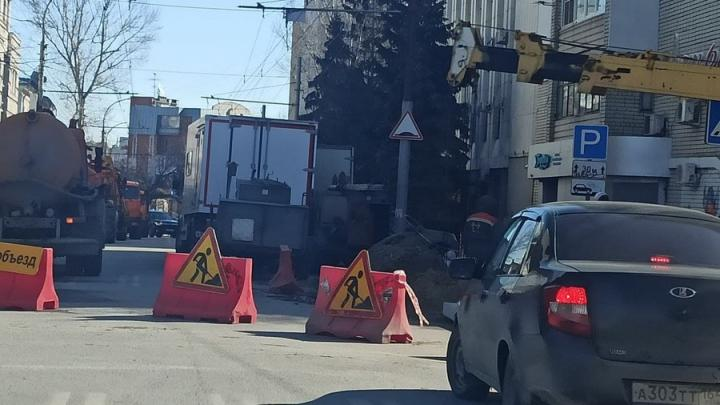В Волжском районе Саратова 24 дома лишились тепла