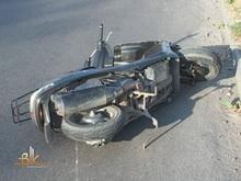 Покалечены два водителя двухколесного транспорта