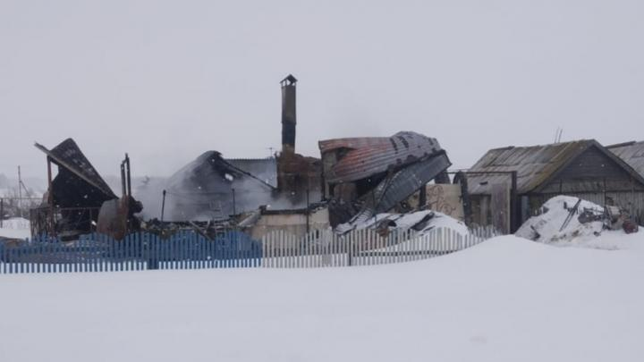 Дом с хозяином сгорел в Базарно-Карабулакском районе