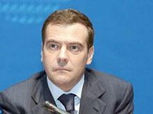 Валерий Радаев отчитался перед Медведевым о ходе уборки зерновых