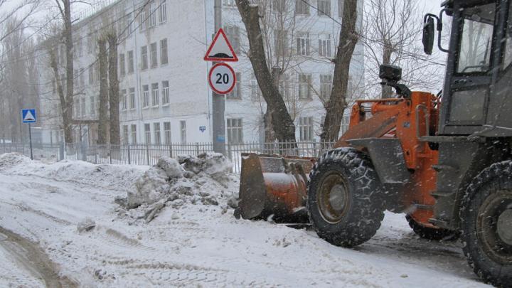 Саратовские чиновники решили очистить дорогу к 10-й городской больнице