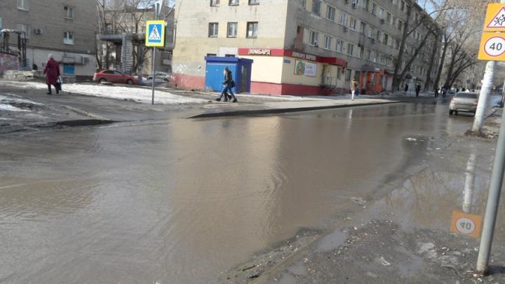 Жители Заводского района «не нашли» тротуаров и ливневок
