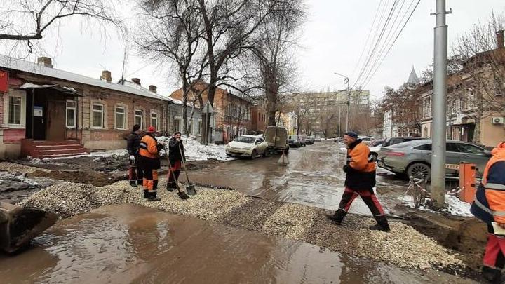 Администрация Кировского района «рассмотрела» яму на Киселева