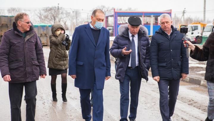 Энгельсский МСК готов к работе в весенний период увеличения объема поступления ТКО