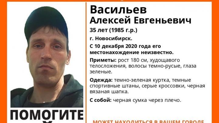 Пропавшего сибиряка ищут в Саратовской области