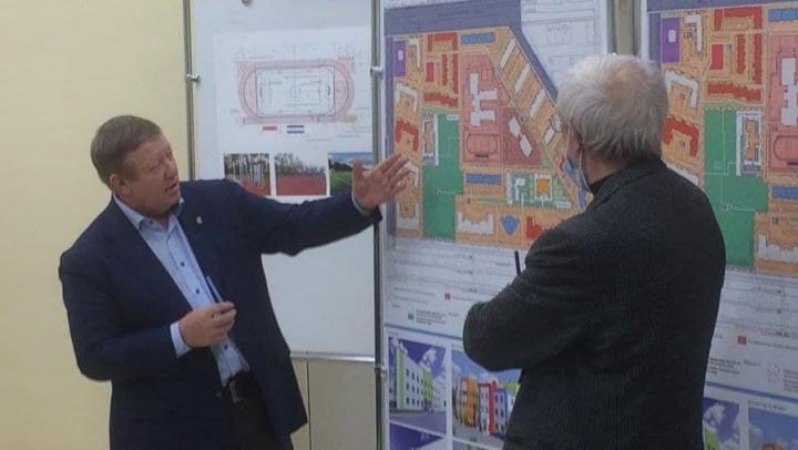 Панков: Строительство поликлиники в Юбилейном будет проходить под контролем жителей