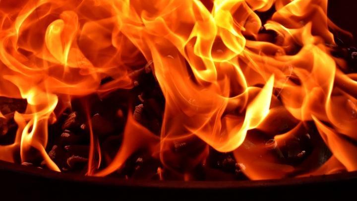 «ГАЗель» загорелась в Марксе