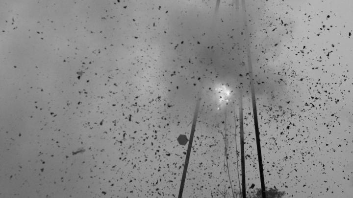 Федеральные каналы заинтересовались горящей шелухой подсолнечника в Балаковском районе