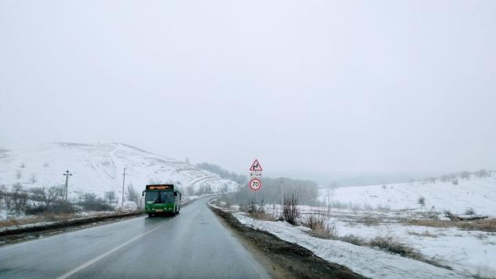 Гололедица не уходит из Саратовской области