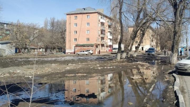 Жители Заводского района не смогли пройти на остановку «5-й Нагорный проезд»