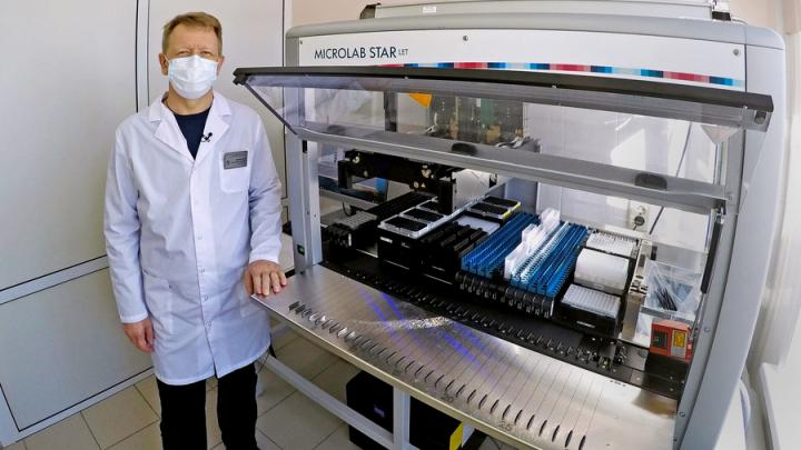 Балаковская АЭС: новое оборудование для районной поликлиники в пять раз увеличит количество исследований на COVID-19