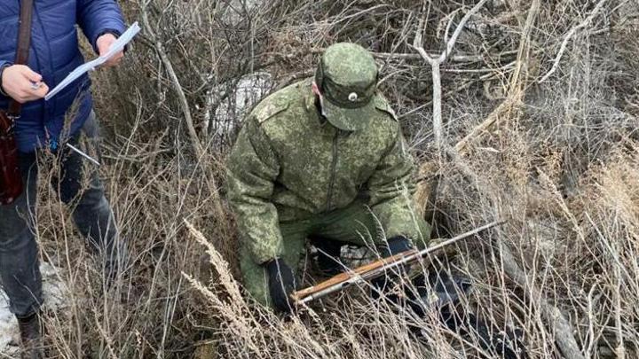 В тайнике под Алгаем найдена неучтенная винтовка