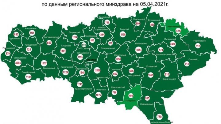 Ивантеевский район Саратовской области отстает в темпах вакцинации