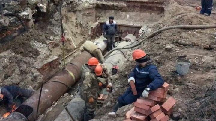 «Т Плюс» завершил ремонтные работы на трубопроводе по ул. Степана Разина