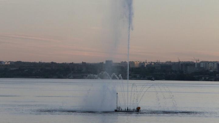 «Поющий» фонтан на набережной в Саратове готовят к запуску