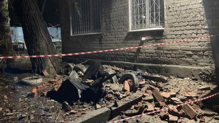 Расследуется обрушение нерасселенного вовремя дома в Заводском районе