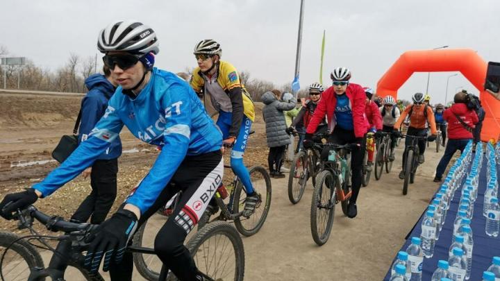 Космический старт:  Жители области приняли участие в велопробеге «Поехали!»