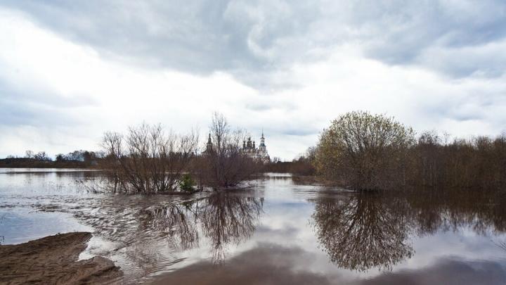Шесть низководных мостов и три дороги затоплены в Саратовской области