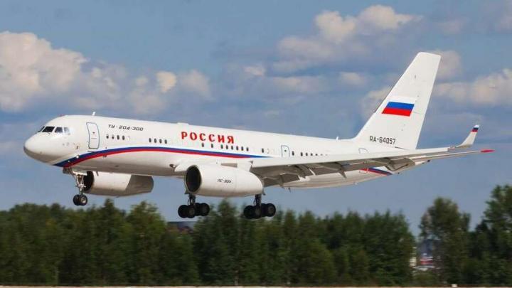 Самолет президента вылетел в Саратовскую область