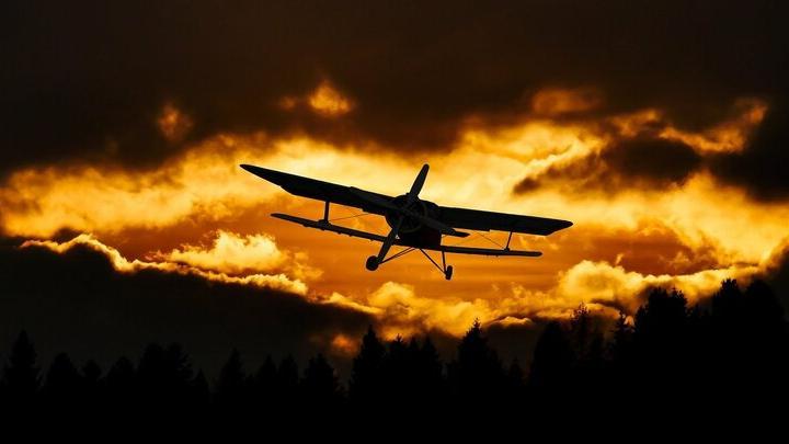 Легкомоторный самолет упал в Саратовской области